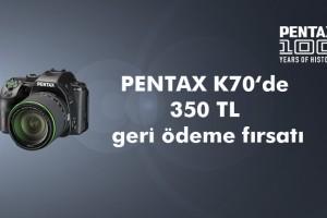 Pentax'tan 100.Yıla Özel Teklif!