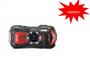 RICOH WG-60 Kamera Modelleri Şimdi Hediyeli!
