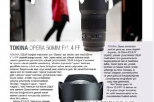 Tokina Opera Lens Serisi / Fotoğraf Dergisi Haziran-Temmuz 2019 Sayısı