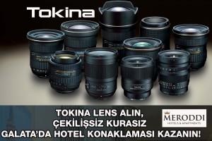 TOKINA Lens Alın, Çekilişsiz Kurasız Galata'da Hotel Konaklaması Kazanın!