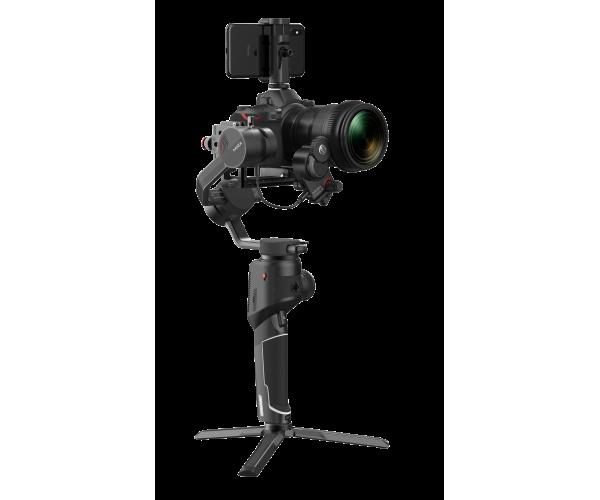MOZA AirCross 2 Siyah Kamera Gimbal (Profesyonel Kit)-Sırt Taşıma Çantası Hediyeli!