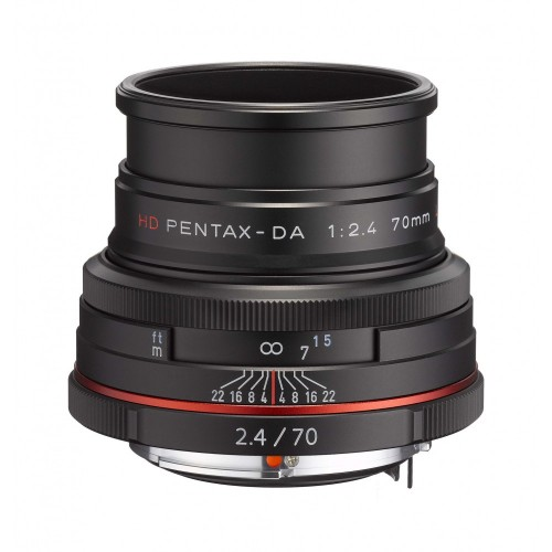 Pentax 70mm F2.4 Limited Objektif