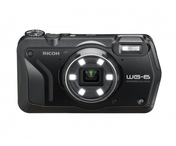 RICOH WG-6 Dijital Kompakt Outdoor Fotoğraf Makinesi  (Siyah)