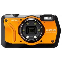 RICOH WG-6 Dijital Kompakt Outdoor Fotoğraf Makinesi  (Turuncu)