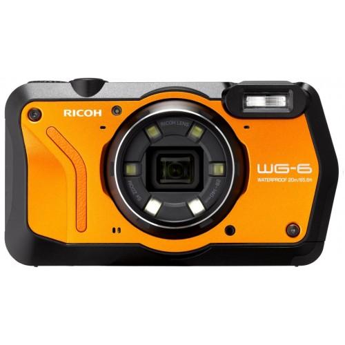 RICOH WG-6 Dijital Kompakt Outdoor Fotoğraf Makinesi  (Turuncu) - YENİ!