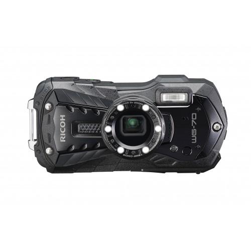 RICOH WG-70 Sualtı Dijital Fotoğraf Makinesi (Siyah) -YENİ!