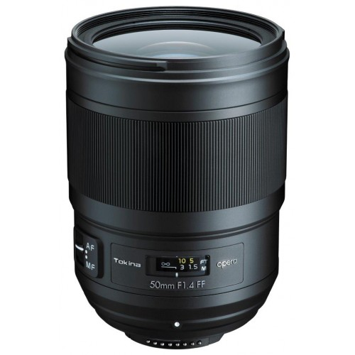 Tokina Opera 50mm F1.4 FF NAF Lens (Nikon İçin) -YENİ!